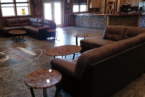 Hunting lodge in Kansas - Midwest Whitetail Adventures