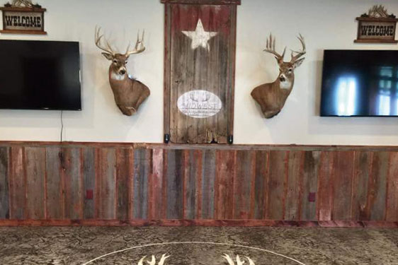 Beautiful hunting lodge in Republican Valley Kansas.