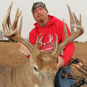 Come hunt monster whitetails with Midwest Whitetail Adventures in Kansas!