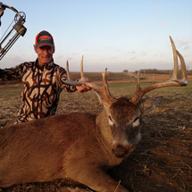 We have many record book kills at Midwest Whitetail Adventures. Let us put you in the record book too.