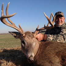 At Midwest Whitetail Adventures We have the land, the stands and most importantly, the Monster Whitetails! Come and join us for a chance at a buck of a life time.