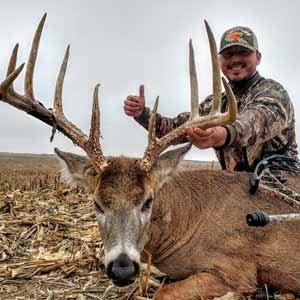 Each year at Midwest Whitetail Adventures we harvest numerous Pope & Young and Boone & Crockett Bucks.