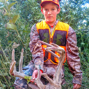 Book your guided youth and adult whitetail hunts in Kansas with MWA